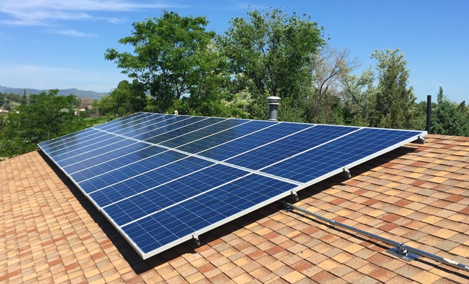 A Fort Collins Colorado Residential Solar Installation
